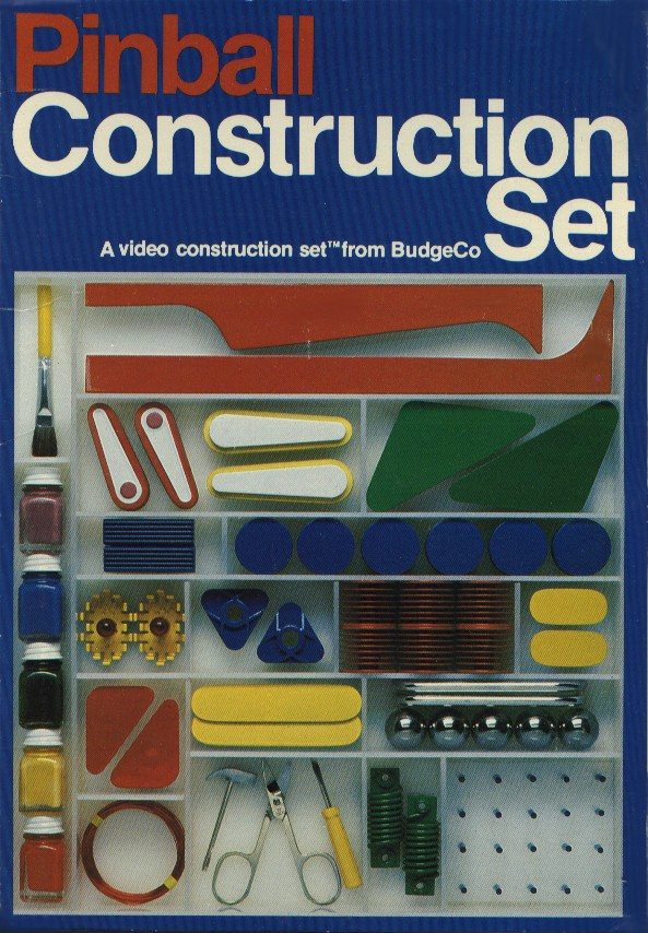 Packaging cover Pinball Construction Set.