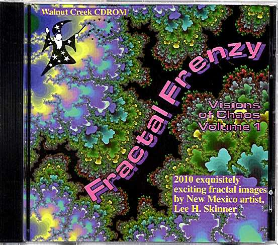 Packaging cover Fractal Frenzy Visions Of Chaos.