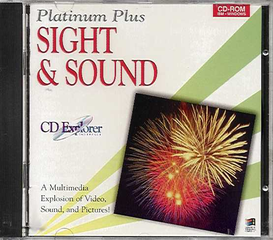 Packaging cover Platinum Plus Sight & Sound.