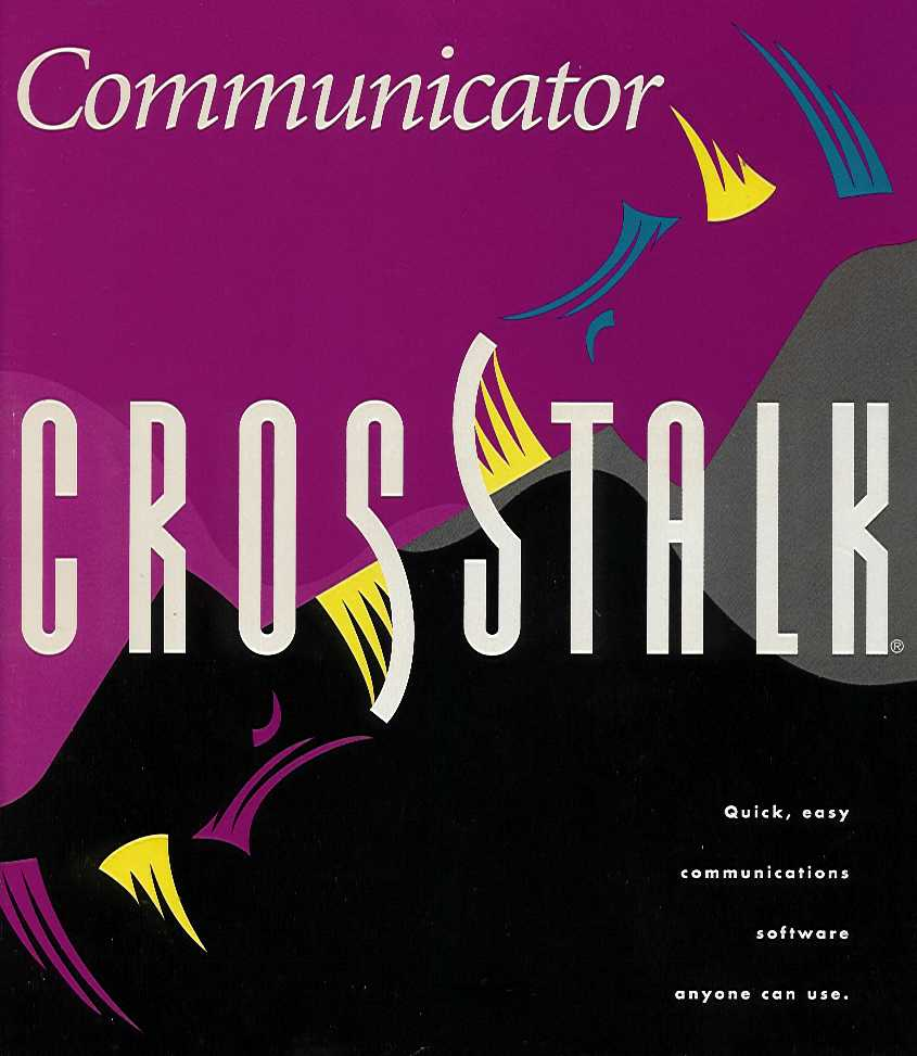 Packaging cover Crosstalk Communicator.