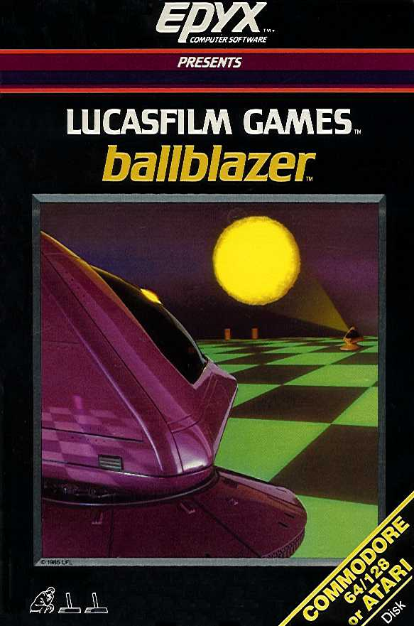 Packaging cover Ballblazer.