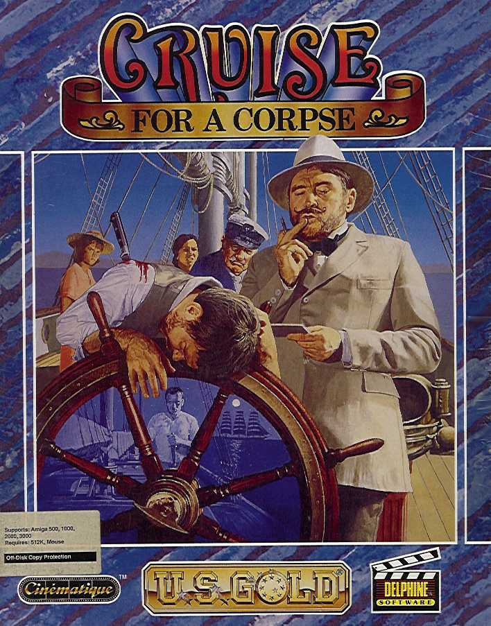 Packaging cover Cruise For A Corpse.