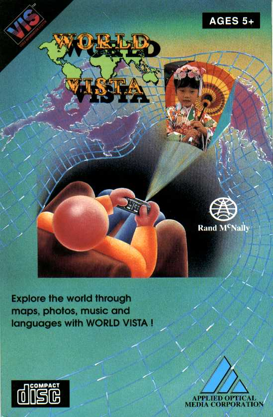 Packaging cover World Vista.