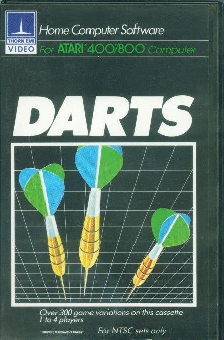 Packaging cover Darts.