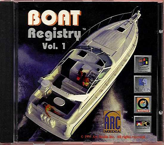 Retail Box cover Boat Registry Volume 1.