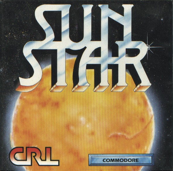 Packaging cover Sun Star C64.