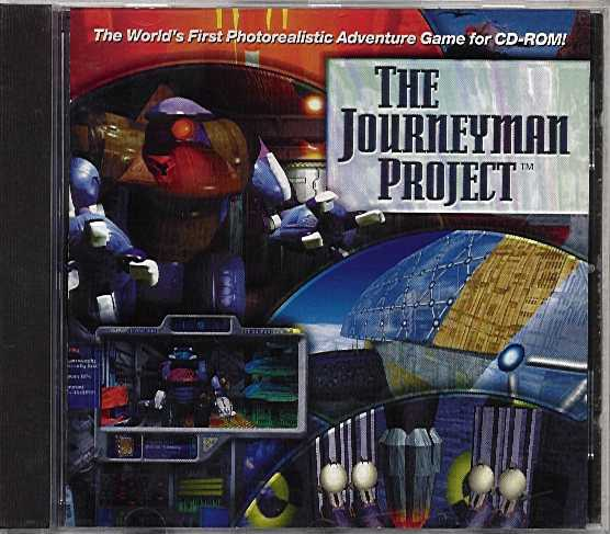 Packaging cover Journeyman Project.