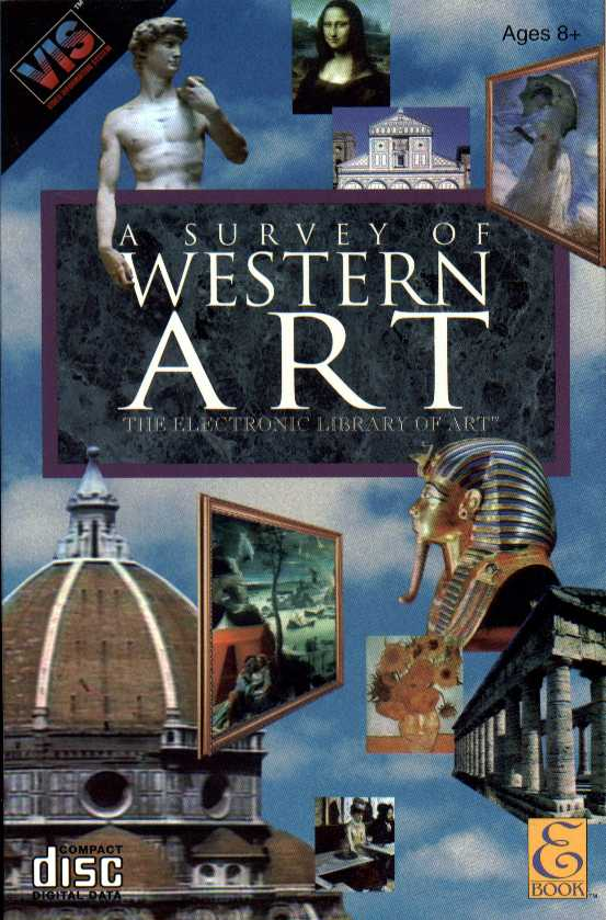 Packaging cover Electronic Library Of Art: Survey Of Western Art.