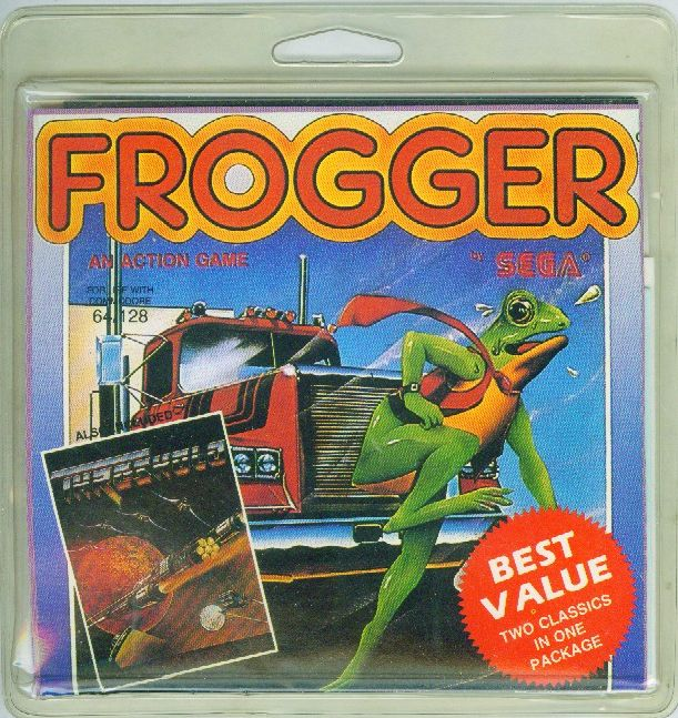Packaging cover Frogger/Threshold.