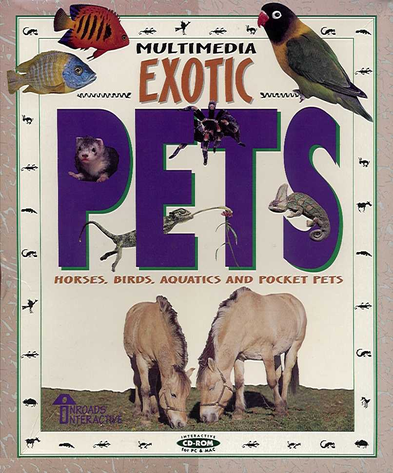 Packaging cover Multimedia Exotic Pets.