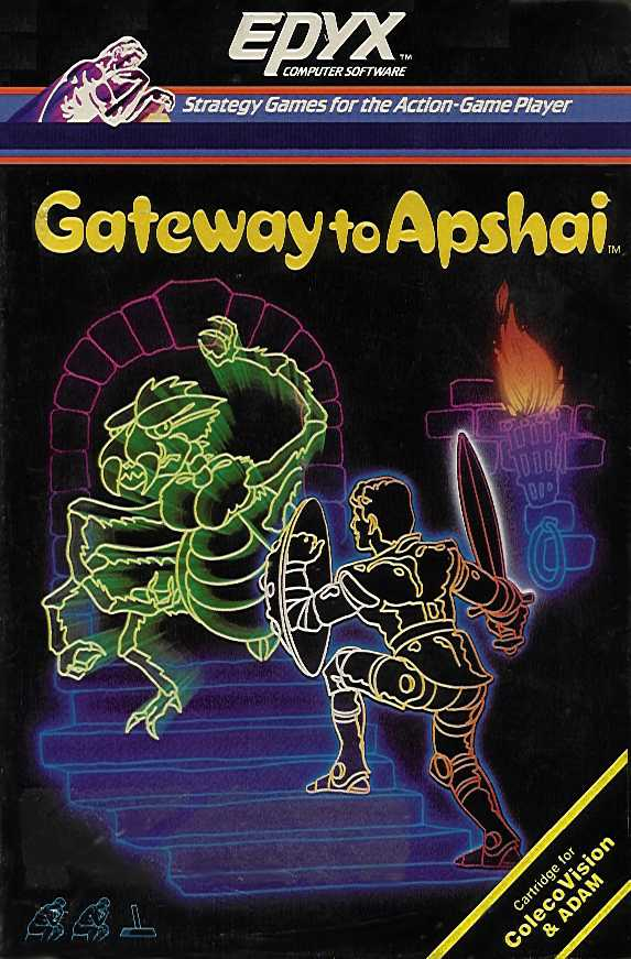 Packaging cover Gateway To Apshai.