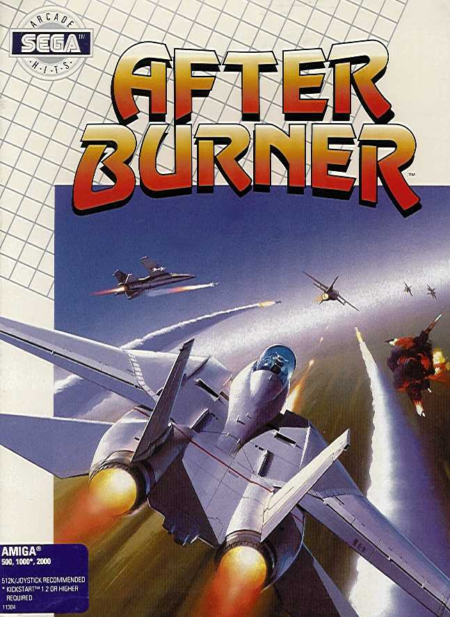 Packaging cover Afterburner.