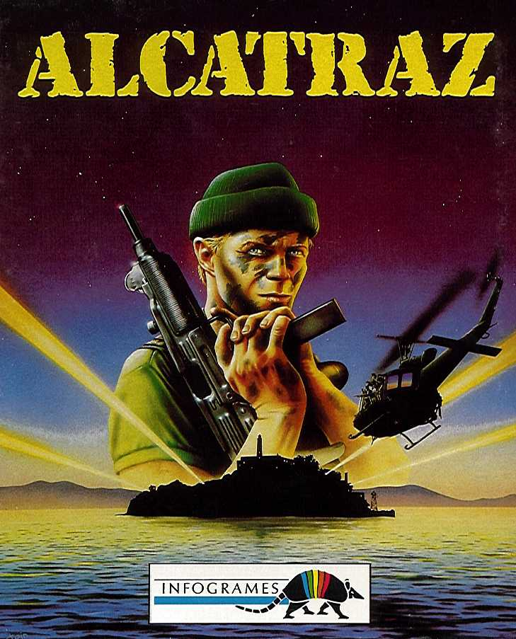 Packaging cover Alcatraz.