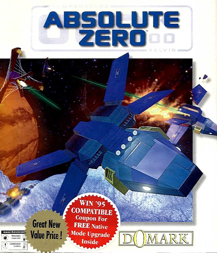 Packaging cover Absolute Zero.