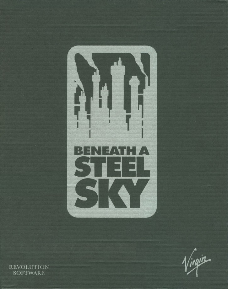 Packaging cover Beneath A Steel Sky.
