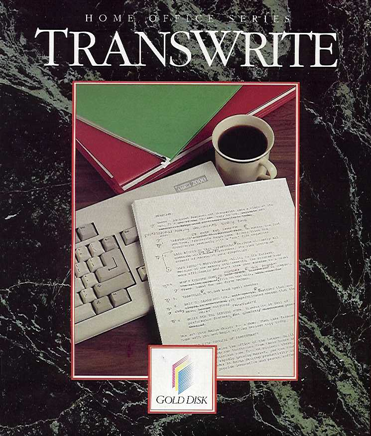 Packaging cover TransWrite.