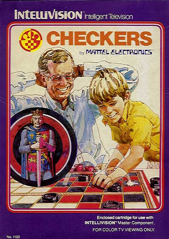 Packaging cover Checkers.