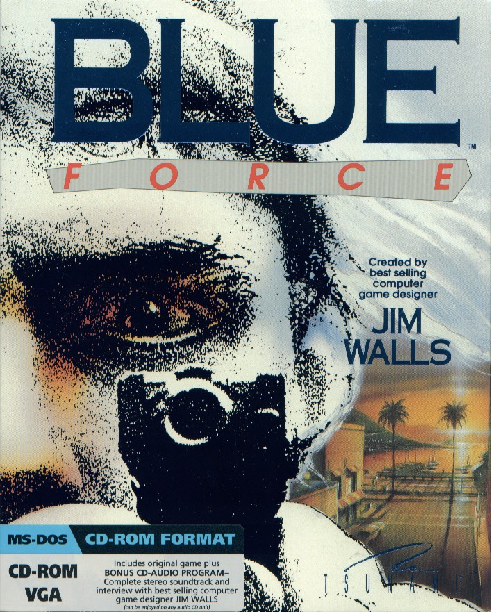 Packaging cover Blue Force.