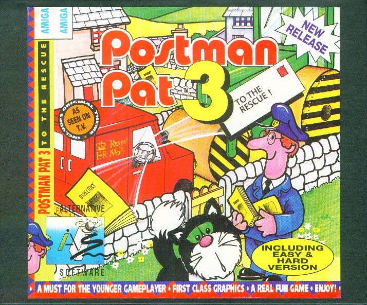 Packaging cover Postman Pat 3.