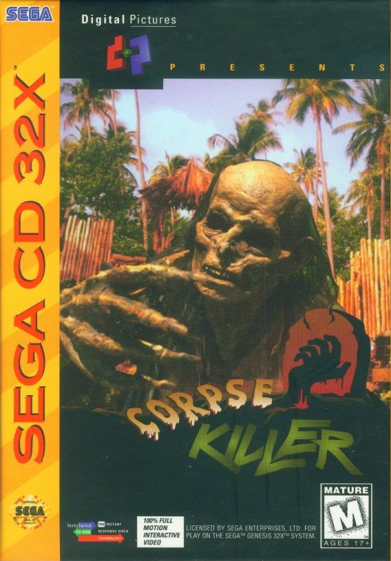 Packaging cover Corpse Killer.