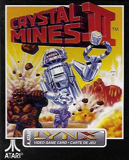 Retail Box cover Crystal Mines II.