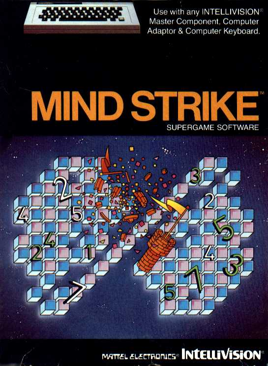 Packaging cover Mind Strike.