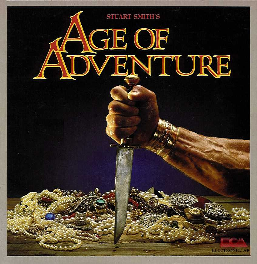 Packaging cover Age Of Adventure.