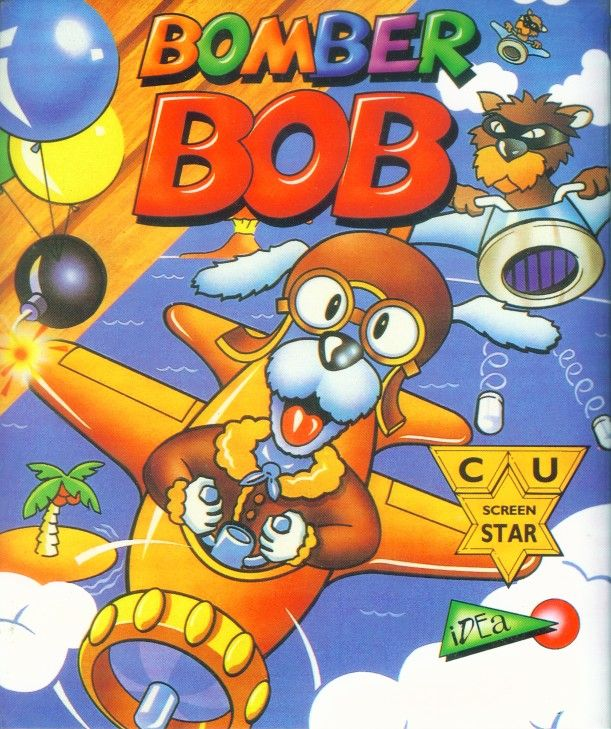 Packaging cover Bomber Bob.