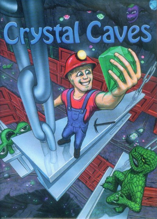 Packaging cover Crystal Caves.