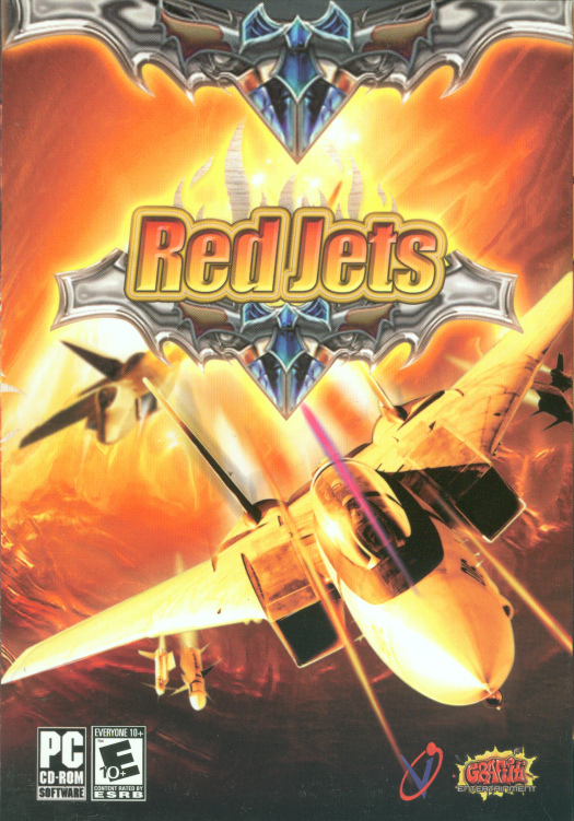 Retail box cover Red Jets.