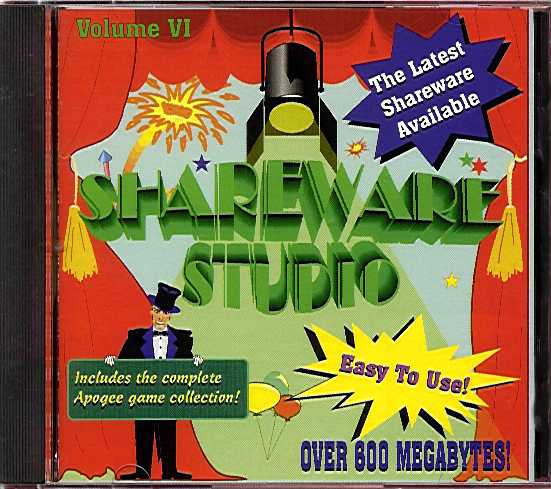 Packaging cover Shareware Studio VI.