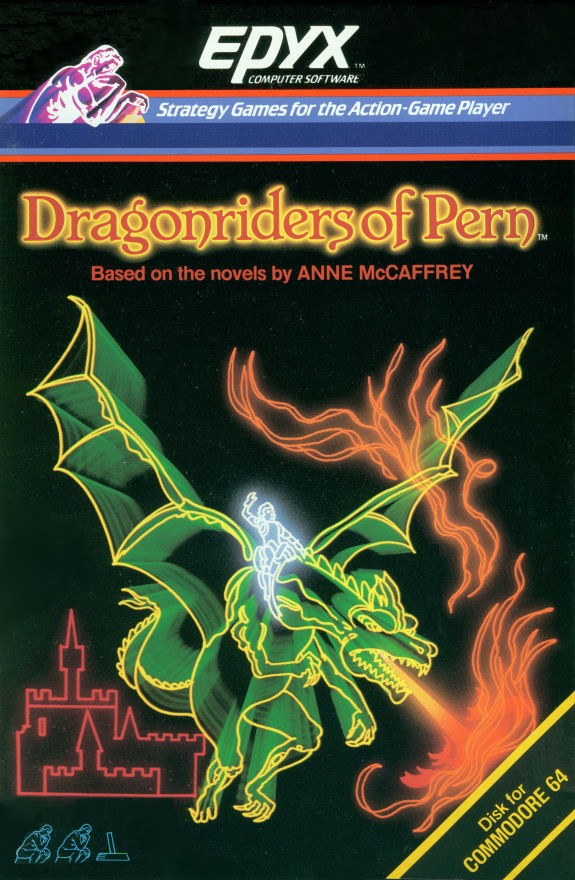 Packaging cover Dragonriders Of Pern.