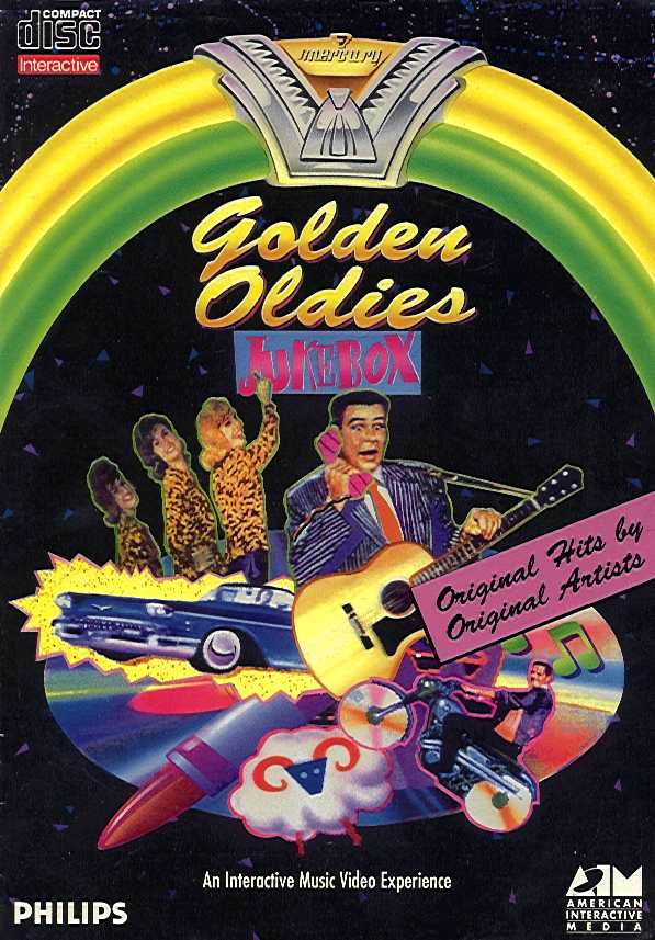 Retail Box cover Golden Oldies Jukebox.