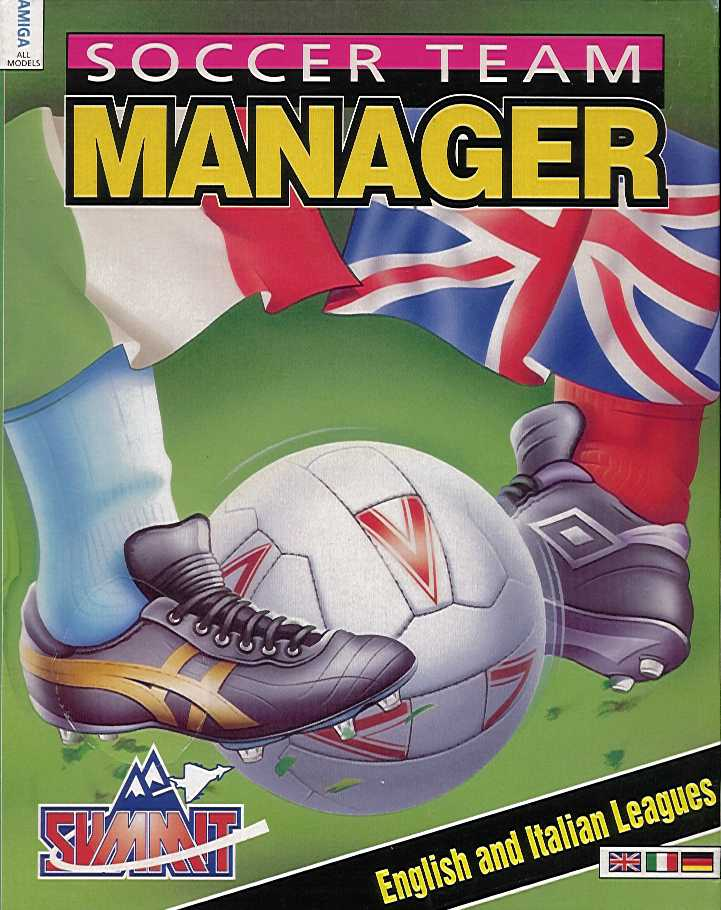 Packaging cover Soccer Team Manager.