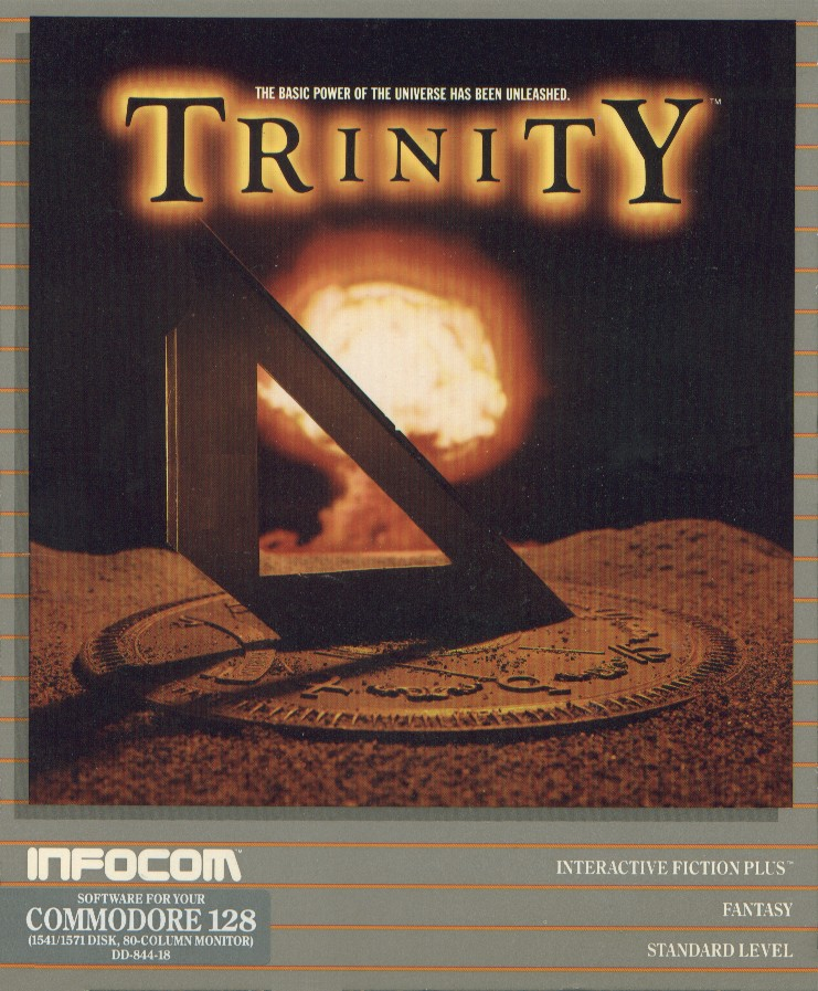 Packaging cover Trinity.