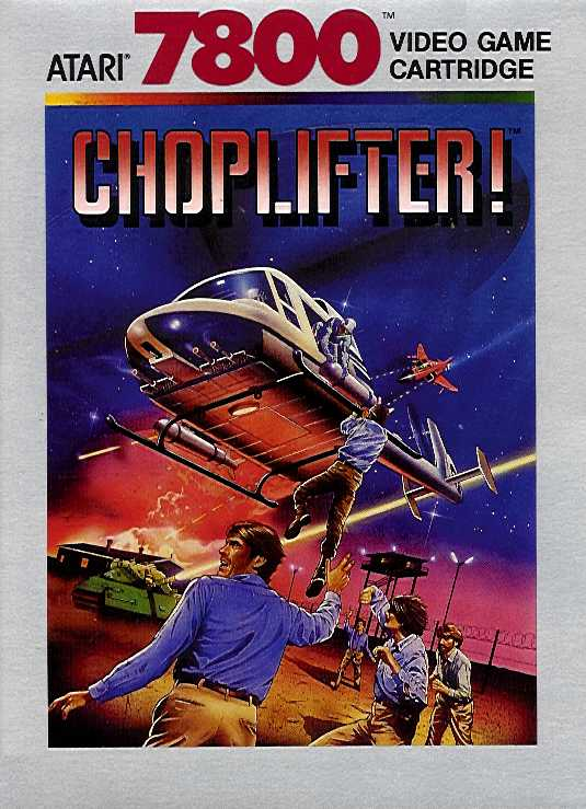 Packaging cover Choplifter!.