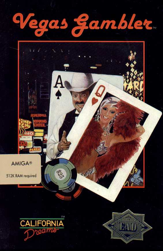 Packaging cover Vegas Gambler.