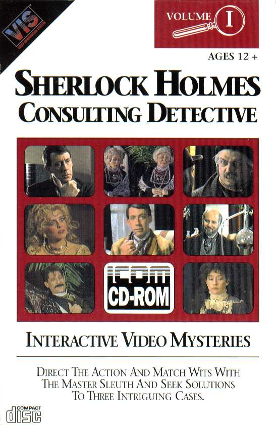 Packaging cover Sherlock Holmes Consulting Detective Volume I.