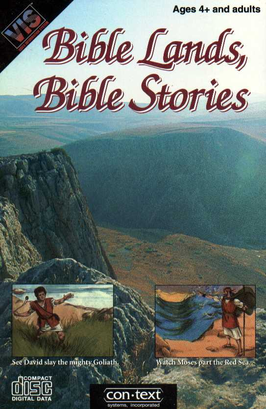 Packaging cover Bible Lands, Bible Stories.