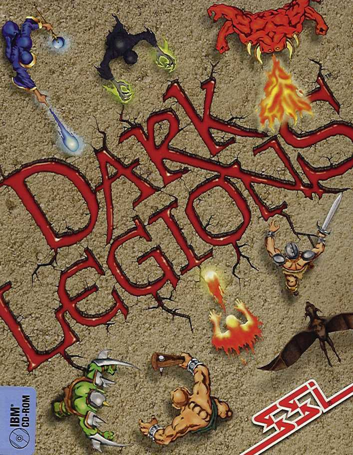 Packaging cover Dark Legions.