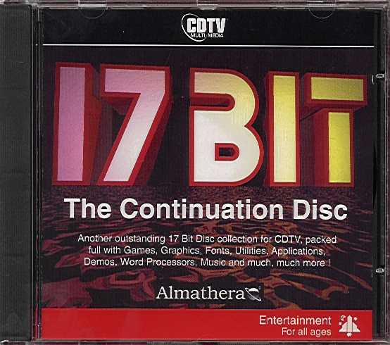 Packaging cover 17 Bit The Continuation Disc.