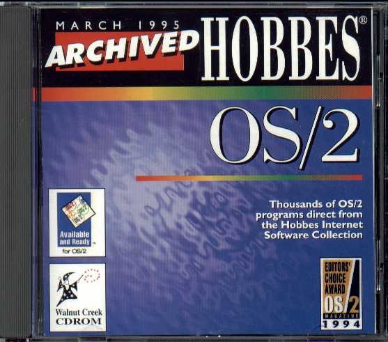 Packaging cover Hobbes OS/2 3/95.