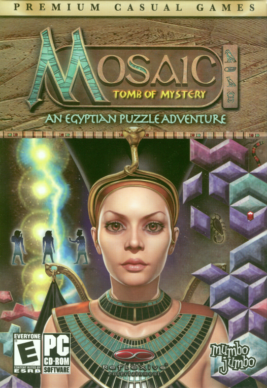 Retail box cover Mosaic: Tomb of Mystery