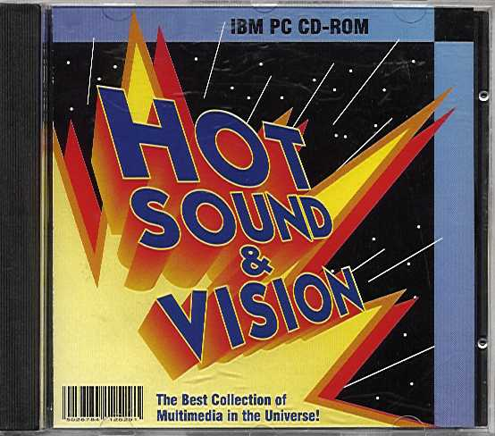 Packaging cover Hot Sound & Vision.