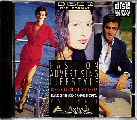 Packaging cover Fashion Advertising Lifestyle Volume 1 Disc 2.