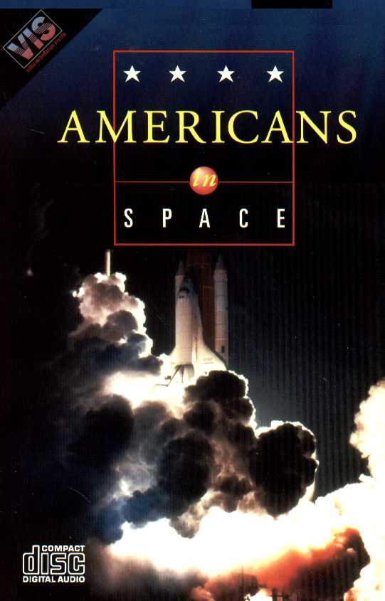 Packaging cover Americans In Space.