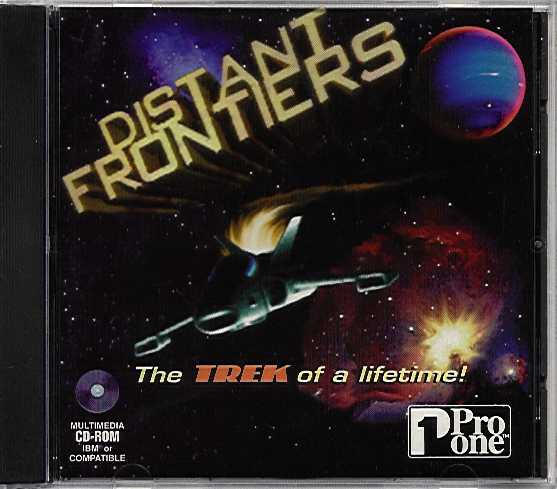 Packaging cover Distant Frontiers.