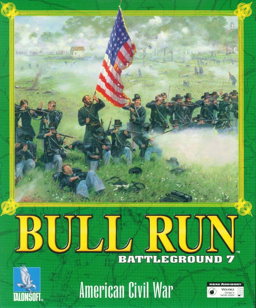 Packaging cover Bull Run: Battleground 7.