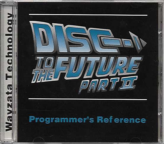 Packaging cover Disc To The Future Part II.