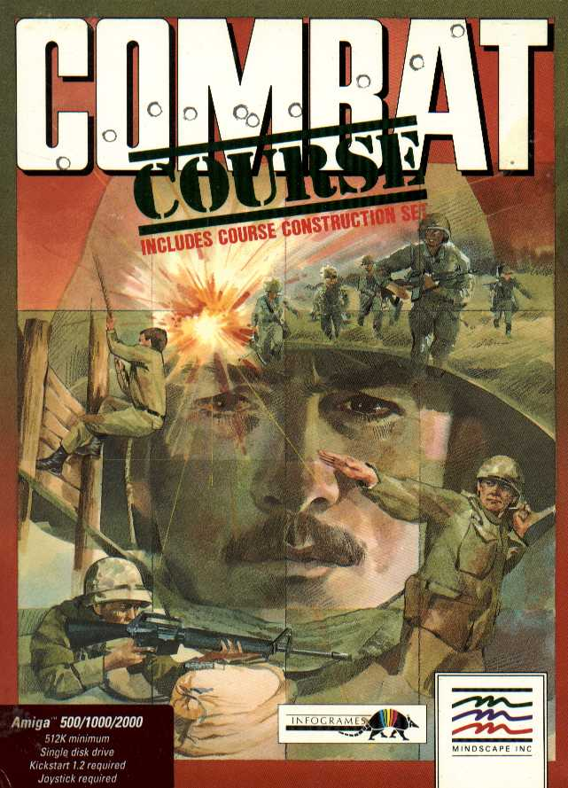 Packaging cover Combat Course.